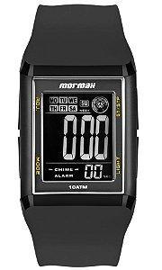 d4df94bbaa145 Relógio Mormaii Wave Digital Quadrado Unissex com Lap Time - MO18008Y