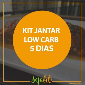 KIT Jantar Low Carb 5 dias