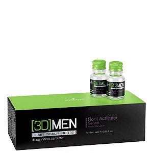 Ampola de Tratamento Ativador de Raízes – 3D Men Root Activator