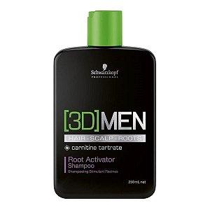 Shampoo  Ativador de Raízes – 3D Men Root Activator