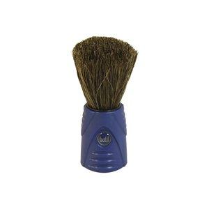 Pincel Barbear Cerdas Naturais - Azul