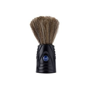 Pincel Barbear Cerdas Naturais - Preto