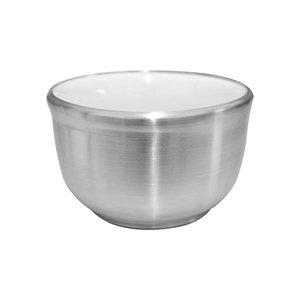 Cumbuca de Porcelana Revestido de Alumínio para Barbear