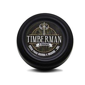 Cera Modeladora de Barba e Bigode Timberman