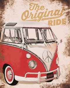 Placa em MDF – The Original Ride Kombi