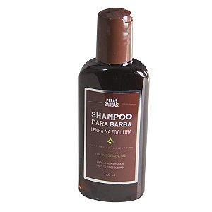 Shampoo para Barba Lenha na Fogueira Pelas Barbas
