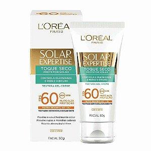 Bloqueador Solar Facial FPS 60 – Expertise Toque Seco L'Oréal
