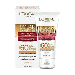 Bloqueador Solar Facial FPS 60 – Expertise Antirrugas L'Oréal