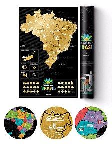 Mapa de Raspadinha Brasil