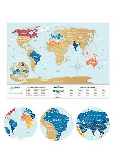Mapa Mundi de Raspadinha Lagoon