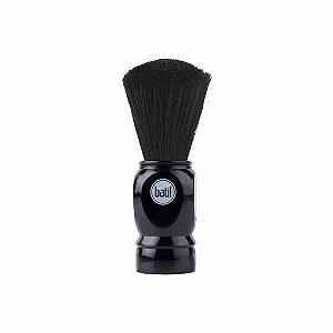 Pincel Barbear Cerdas Sintéticas - Preto