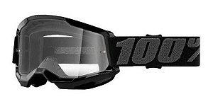 Óculos 100% Strata2 preto