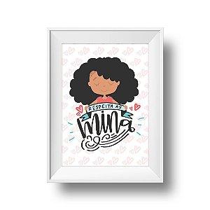 Respeita as Mina - Print A4