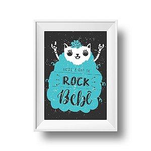 Hoje é dia de Rock - Print A4