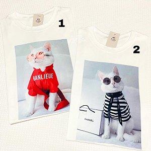 Tshirts Cat Fashion