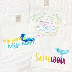 Tshirts Hawaii, Mar e Sereioou