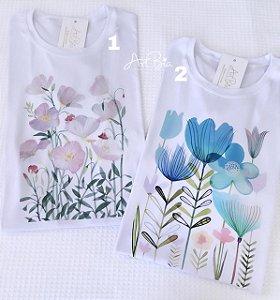 Tshirt Flores Galhos