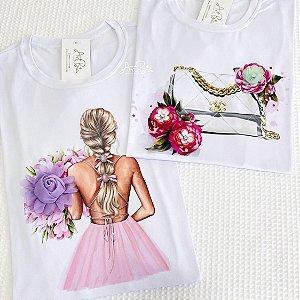 Tshirt Girl e Bolsa