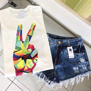 Tshirt paz e amor
