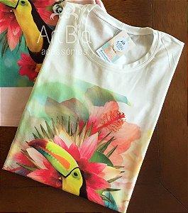 tshirt tucano floral off