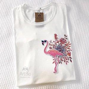 Tshirt flamingo floral