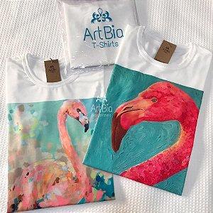 tshirt flamingos