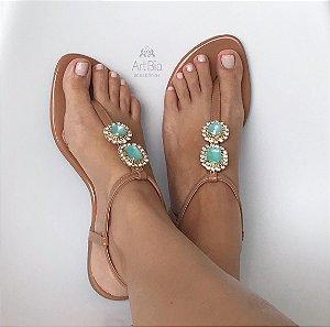 Flat nude / verde água