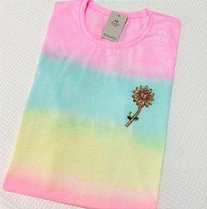 Tshirt Tie Dye Rosa Pedrarias