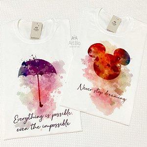 Tshirt Aquarela