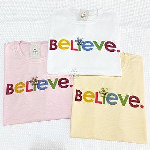 Tshirt  Believe Color
