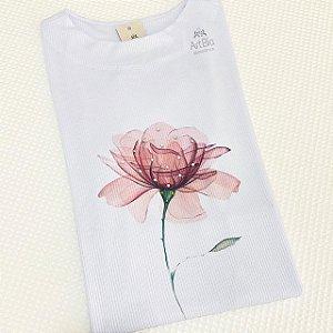 Tshirt Flor Canelada