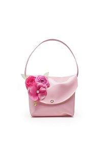 Bolsa rosa de flor Julia Silva By Anuska