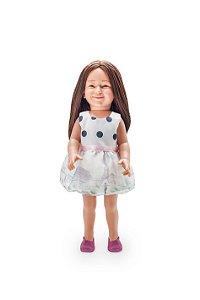 Vestido Paris para bonecas de até 46 cm Julia Silva By Anuska