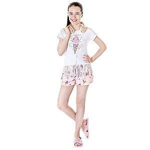 Shorts neoprene doces Julia Silva By Anuska