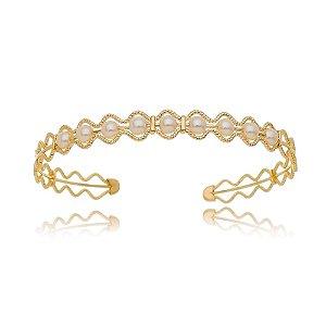 Bracelete pérolas