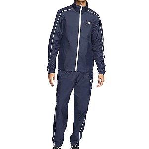 Agasalho Nike Nsw Suit Basic Masculino Azul Marinho