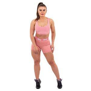 Shorts Everlast 45A Rosa Feminino