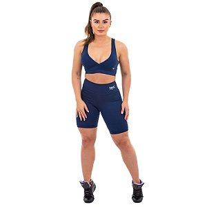 Shorts Everlast 29C Azul Feminino