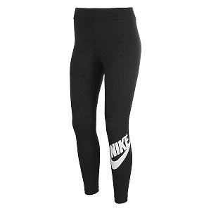 Calça Legging Nike Essential Ftra Preto Feminino