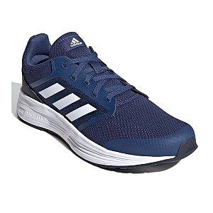 Tenis Adidas Galaxy 5 Azul Marinho Masculino