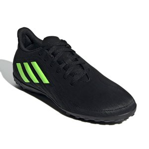Chuteira Suiço Adidas Deportivo Preto/Verde
