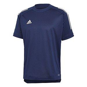 Camiseta Adidas Treino Condivo 20 Azul Marinho Masculino