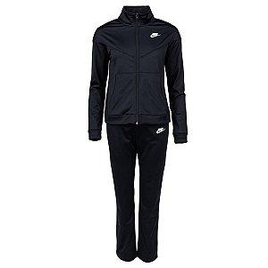 Agasalho Nike Nsw Trk Suit Pk Preto Feminino