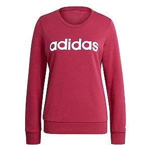 Blusão Adidas Essential Linear Rosa Feminino
