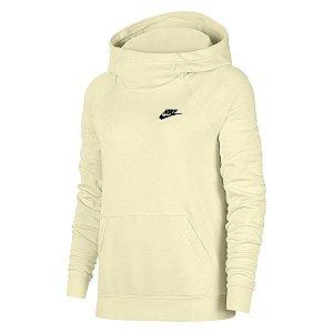 Moletom Nike Nsw Essential Fnl Po Amarelo Feminino