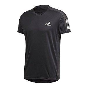 Camiseta Adidas Own The Run Refletivo Preto Masculino