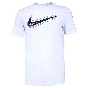 Camiseta Nike Nsw Swoosh 12 Month Branco Masculino