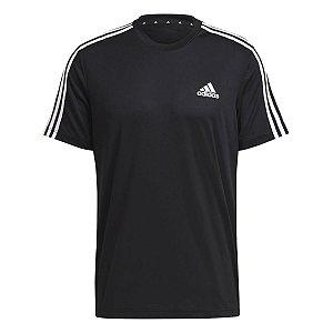 Camiseta Adidas D2m 3s Preto Masculino