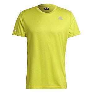Camiseta Adidas Run It Amarelo Masculino