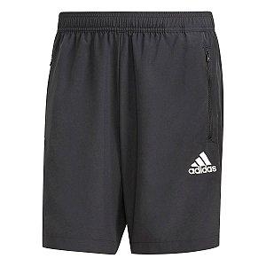 Shorts Adidas D2m Plano Preto Masculino